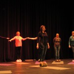 Bühne- Faszientraining