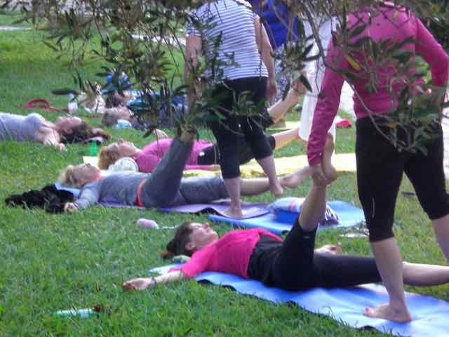 Geführte Thai-YogaMassage